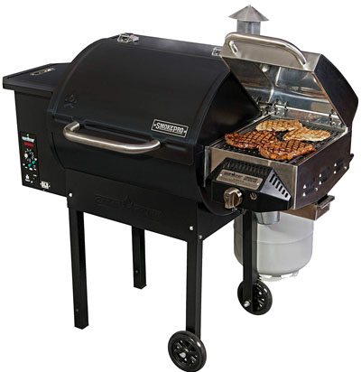 Camp Chef SmokerPro DLX with sear box