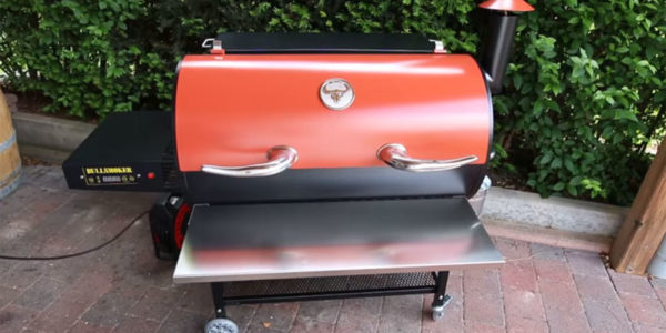 cleaning pellet grill